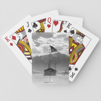 Dust storm at this War Relocation_War image Playing Cards