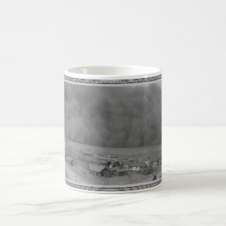 Dust Storm in Approching Rolla Kansas in 1935 Coffee Mug