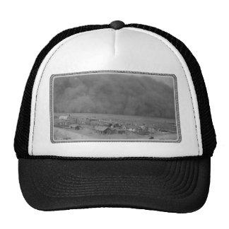Dust Storm in Approching Rolla Kansas in 1935 Trucker Hat