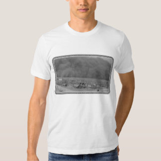 Dust Storm in Approching Rolla Kansas in 1935 T-Shirt