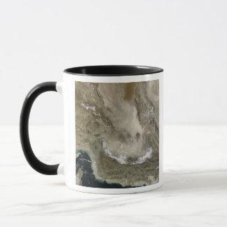 Dust storm in Iran Mug