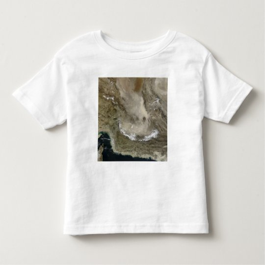 Dust storm in Iran Toddler T-shirt