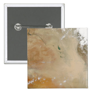 Dust storm in the Middle East 2 Inch Square Button