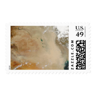 Dust storm in the Middle East Postage