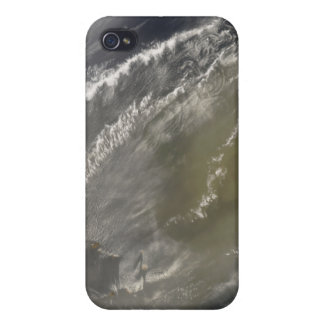 Dust storm off West Africa 2 iPhone 4 Covers