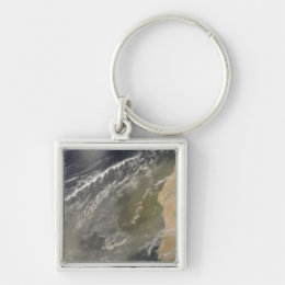 Dust storm off West Africa 2 Keychain