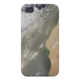 Dust storm off West Africa iPhone 4 Case