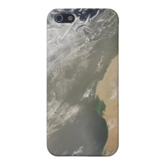 Dust storm off West Africa iPhone SE/5/5s Cover