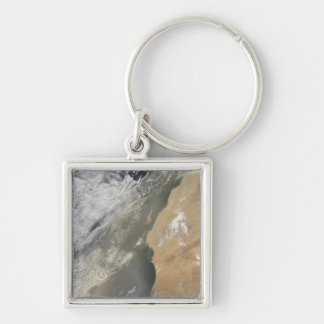 Dust storm off West Africa Keychain