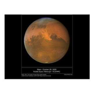 Dust Storm on Mars Cards and Postcards