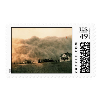 Dust Storm Postage