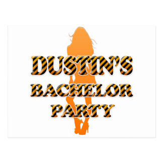 Dustin s Bachelor Party Post Card