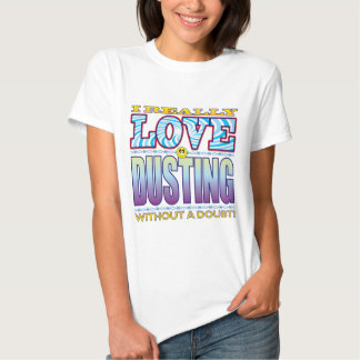 Dusting Love Face Tee Shirts