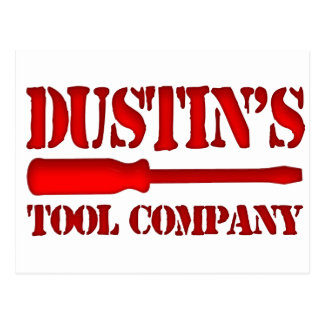 Dustin's Tool Company Postcard