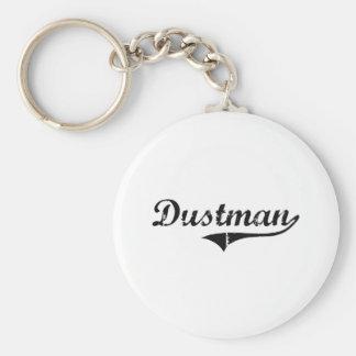 Dustman Professional Job Basic Round Button Keychain