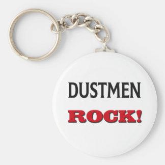Dustmen Rock Basic Round Button Keychain