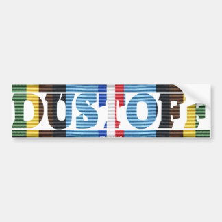 DUSTOFF Armed Forces Expeditionary Medal Sticker Car Bumper Sticker