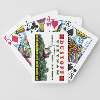 DUSTOFF BICYCLE PLAYING CARDS
