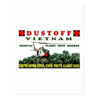 DUSTOFF POSTCARD