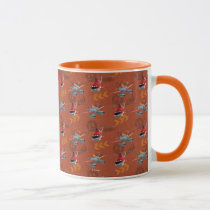 Dusty And Blade Ranger Pattern Mug