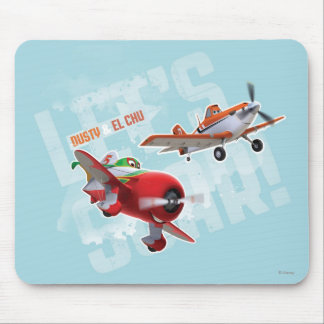 Dusty and El Chu - Let's Soar! Mouse Pad