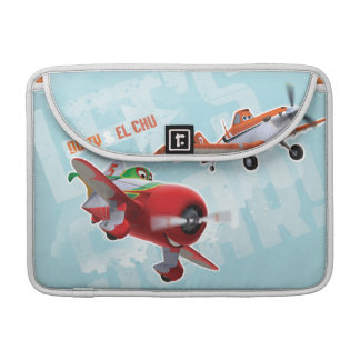 Dusty and El Chu - Let's Soar! Sleeve For MacBook Pro