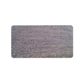 Dusty and Rutted Dirt Sand Road Custom Address Labels