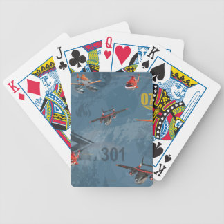 Dusty, Blade Ranger, And Cabbie Pattern Bicycle Playing Cards