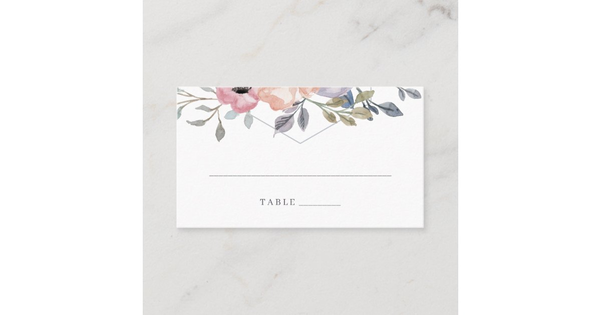 paper origami heart wedding escort cards | 630x1200