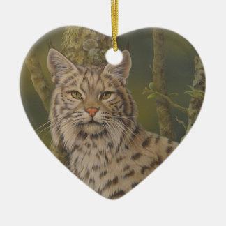 """""""Dusty"""" Bobcat Christmas Tree Ornaments"""