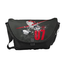Dusty Character Art 3 Courier Bag at Zazzle