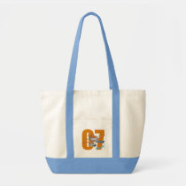 Dusty Character Art Tote Bag