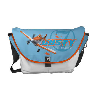 Dusty Crophopper No. 7 Messenger Bag