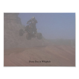 Dusty Day at Whiplash Poster