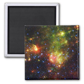 Dusty death of a massive star 2 inch square magnet