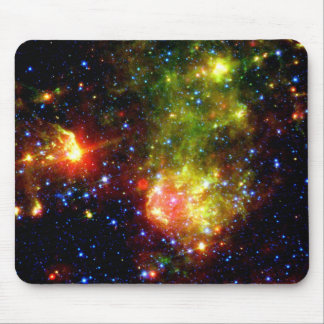 Dusty Death of Massive Star Mouse Pad