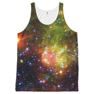 Dusty death of massive star NASA All-Over-Print Tank Top