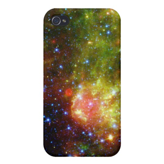 Dusty death of massive star NASA Cover For iPhone 4