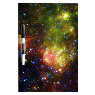 Dusty death of massive star NASA Dry-Erase Board