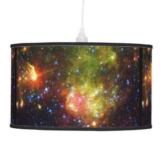 Dusty death of massive star NASA Hanging Lamp