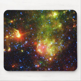 Dusty death of massive star NASA Mouse Pad