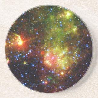 Dusty death of massive star NASA Sandstone Coaster