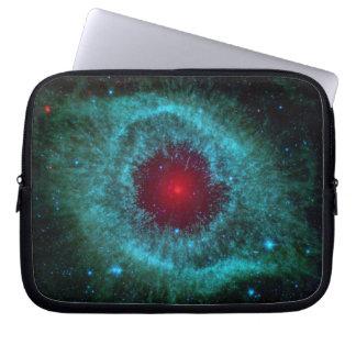 Dusty Eye of Helix Nebula NGC 7293 Computer Sleeve