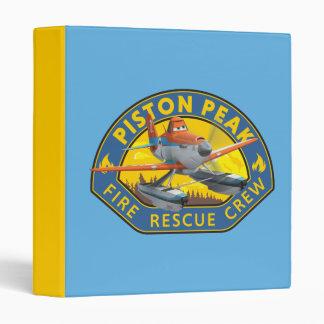 Dusty Fire Rescue Crew Badge Binders