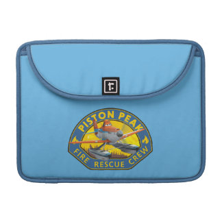 Dusty Fire Rescue Crew Badge MacBook Pro Sleeve