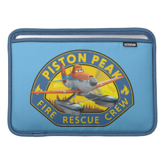 Dusty Fire Rescue Crew Badge MacBook Sleeve