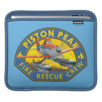 Dusty Fire Rescue Crew Badge Sleeve For iPads