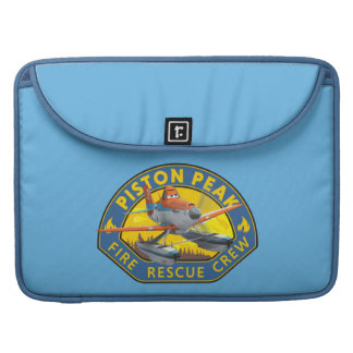 Dusty Fire Rescue Crew Badge Sleeve For MacBooks