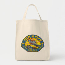 Dusty Fire Rescue Crew Badge Tote Bag