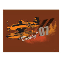 Dusty Graphic Postcard